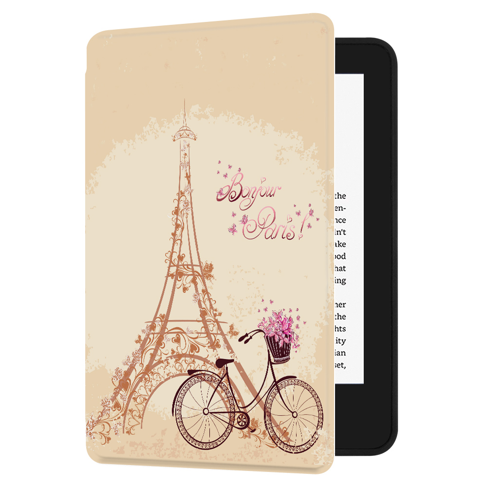 Huasiru Painting Case for All-new Kindle (10th Generation-2019 Only) with  Auto Sleep/Wake,Paris